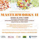 Flagstaff Symphony Orchestra string ensemble performs at Ardrey Memorial Auditorium
