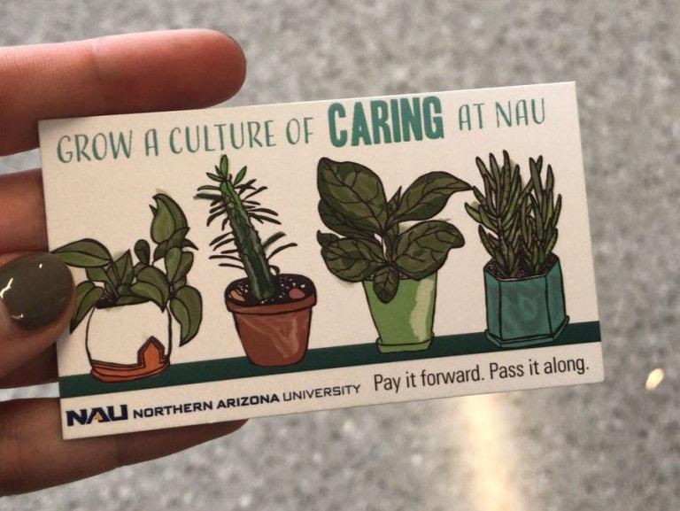 Kindness campaign passalong card