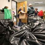 Jacks giving back: Annual winter clothing and food drive collects more than 1,200 donated items