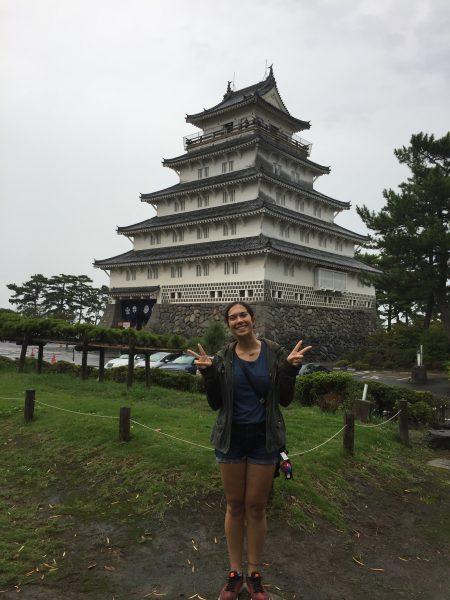 Shelly Peer in Japan