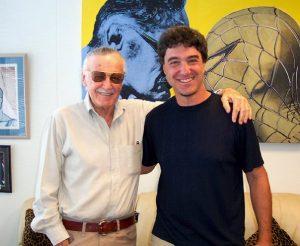 Stan Lee and Tom Filsinger