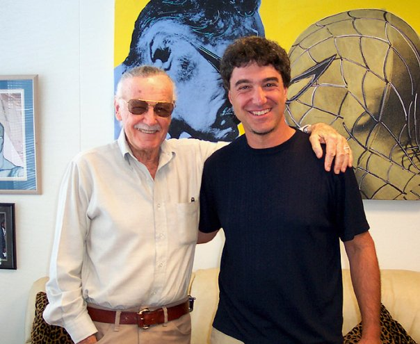 Stan Lee and Tom Filsinger