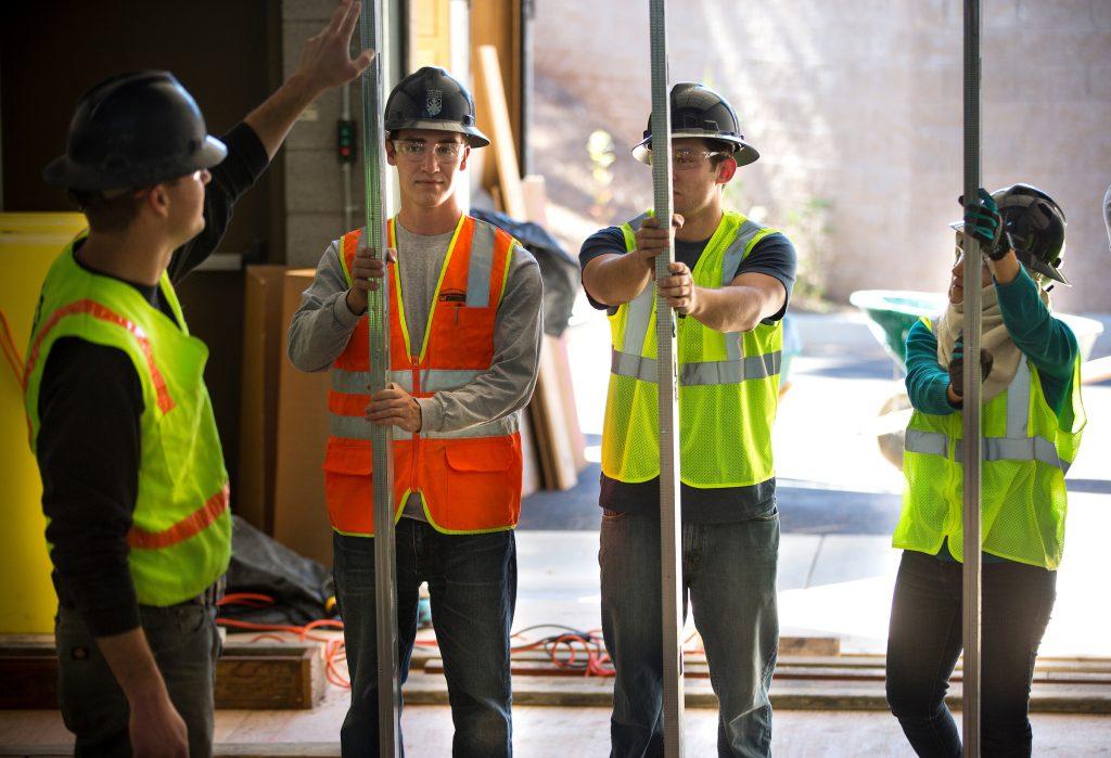 Construction management students