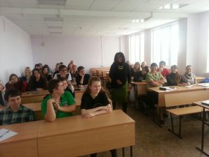 Weeks at Omsk State University, Siberia