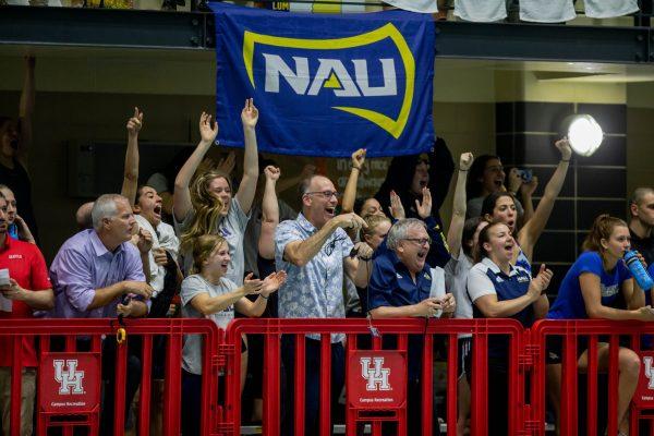 NAU fans cheer