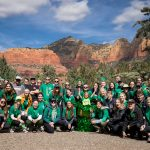 Seeing green: NAU students get hands-on experience planning, coordinating Sedona's St. Patrick's Day parade