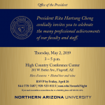 RSVP to the NAU Professional Achievement Ceremony