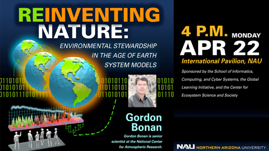 Graphic for Gordon Bonan talk