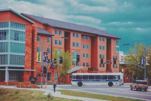 NAU bus drives campus
