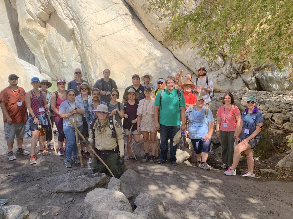 Group Photo in Front of Tahquiz Canyon