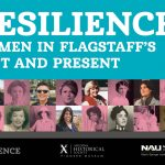 flier for Resilience exhibit