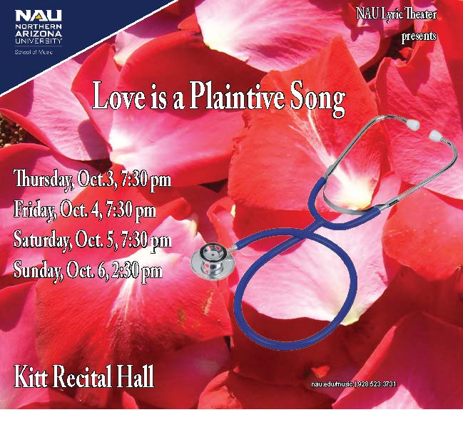 Love is a Plaintive Song flier