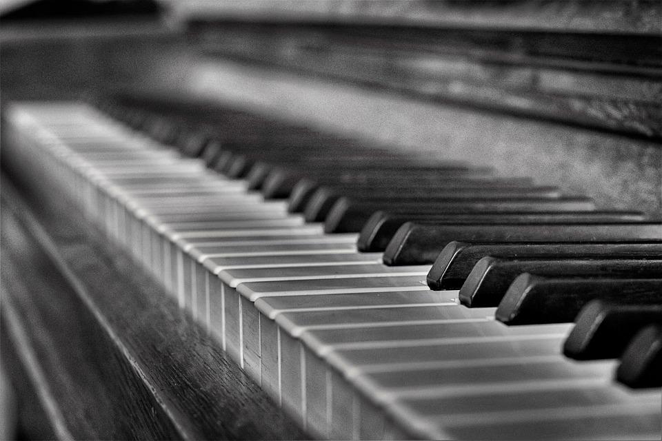 Rustic piano