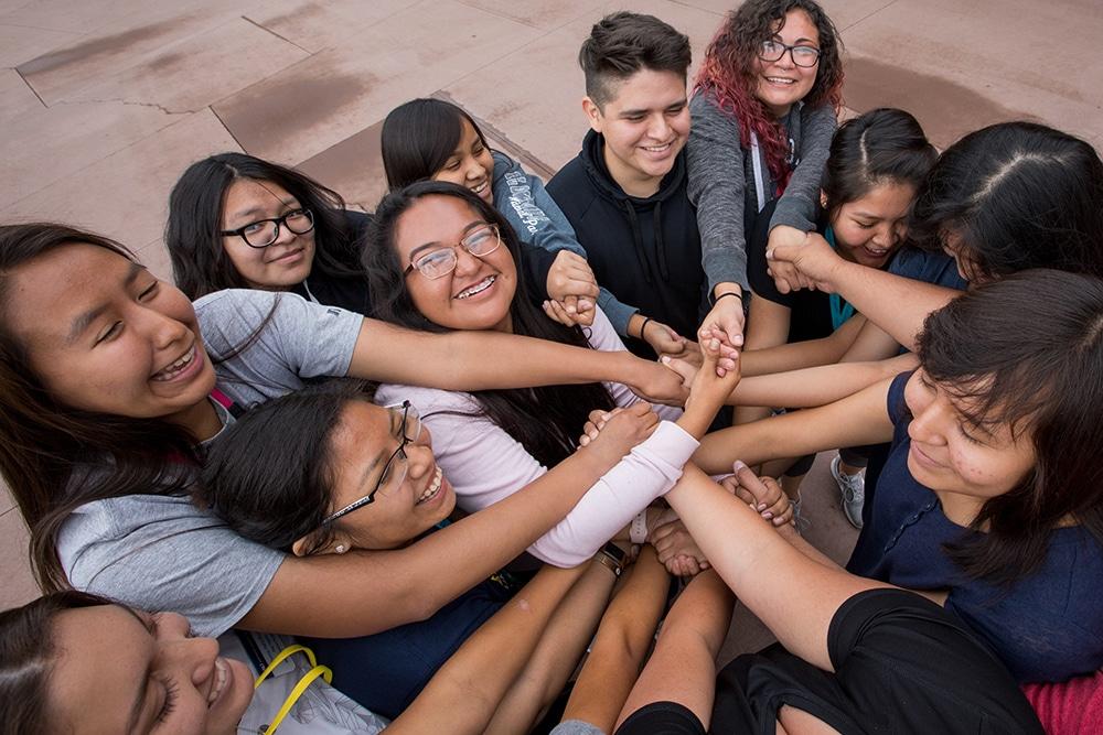 NAU Native American students