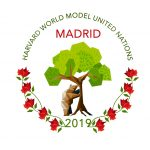 Harvard World MUN 2019 logo