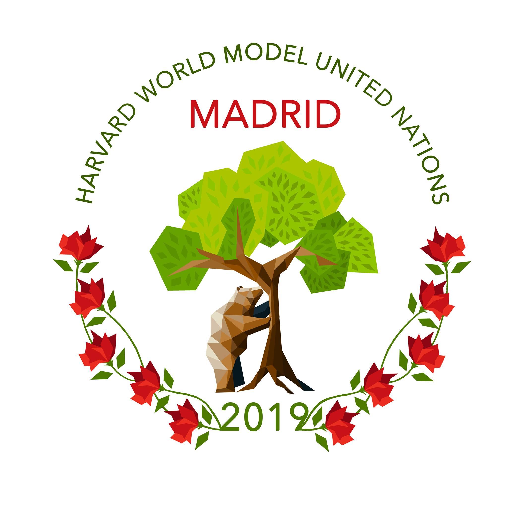 Harvard World MUN 2019 logo