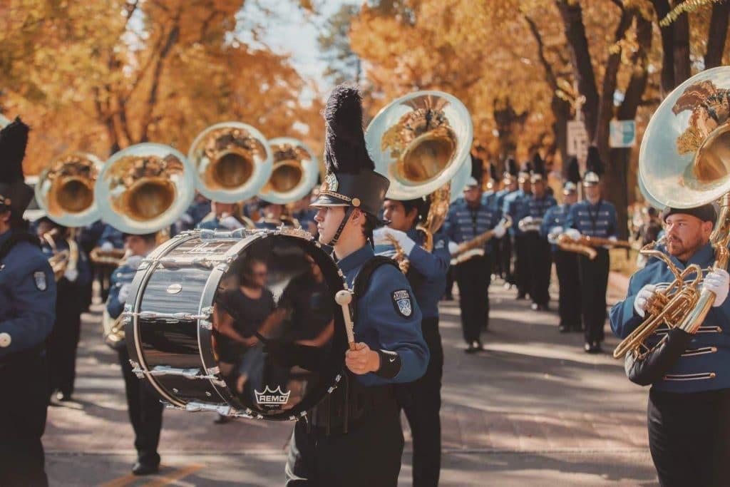 NAU Marching band