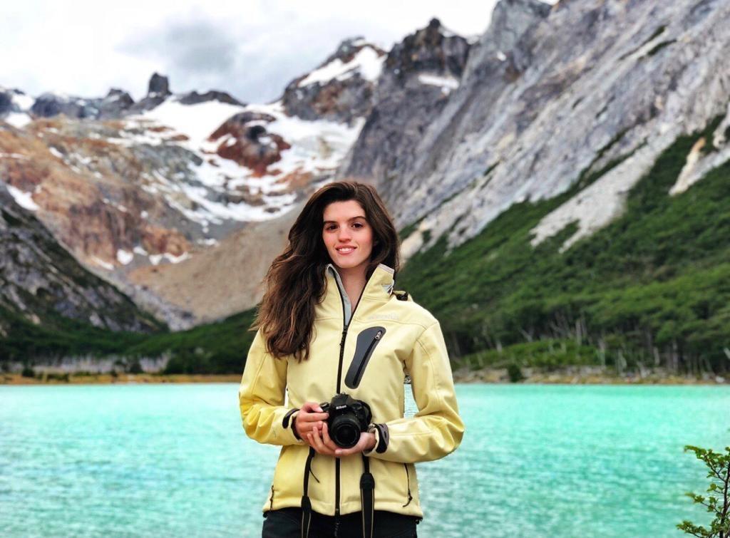 Mia Pique in Patagonia