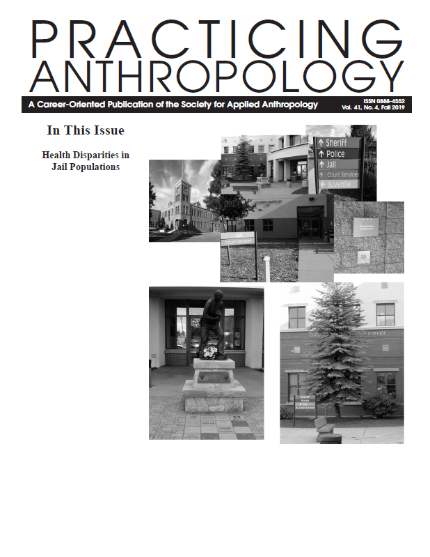 Practicing Anthropology cover page
