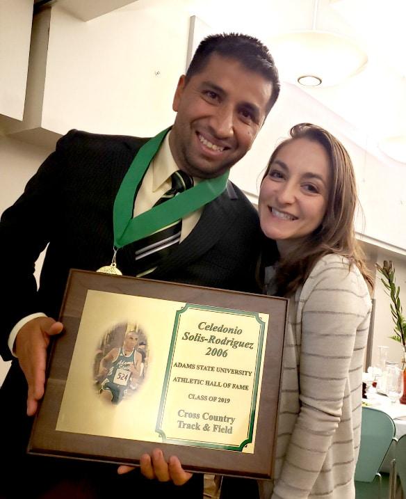 Cele Rodriguez and wife Malia