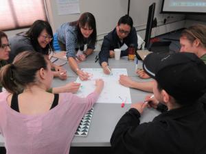 ITEP brainstorming session