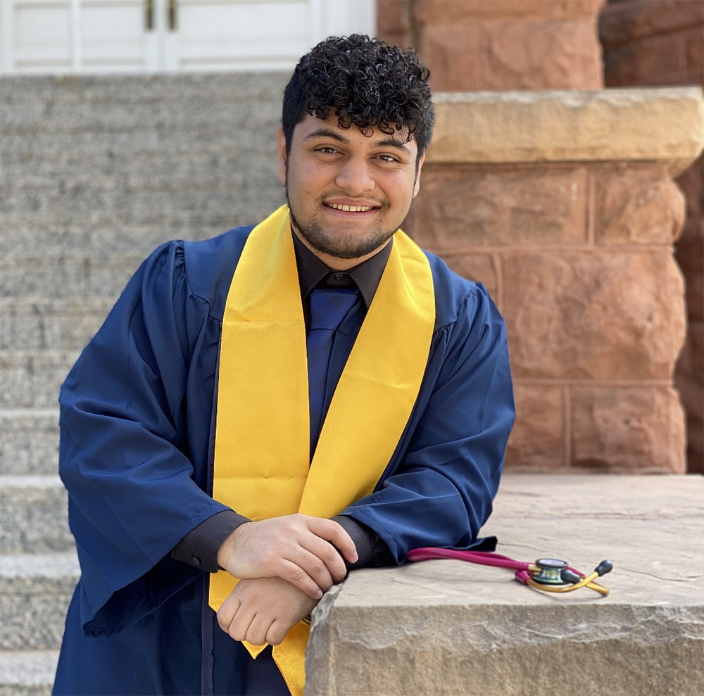 Graduate Fernando Mendivil Nursing Student Hopes To Impact The Lives Of Patients Starting With His Sick Mother Nau News