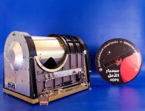 The Emirates Mars Infrared Spectrometer prior to integration on the Hope orbiter. Credit: MBRSC/ASU/NAU/CU-LASP