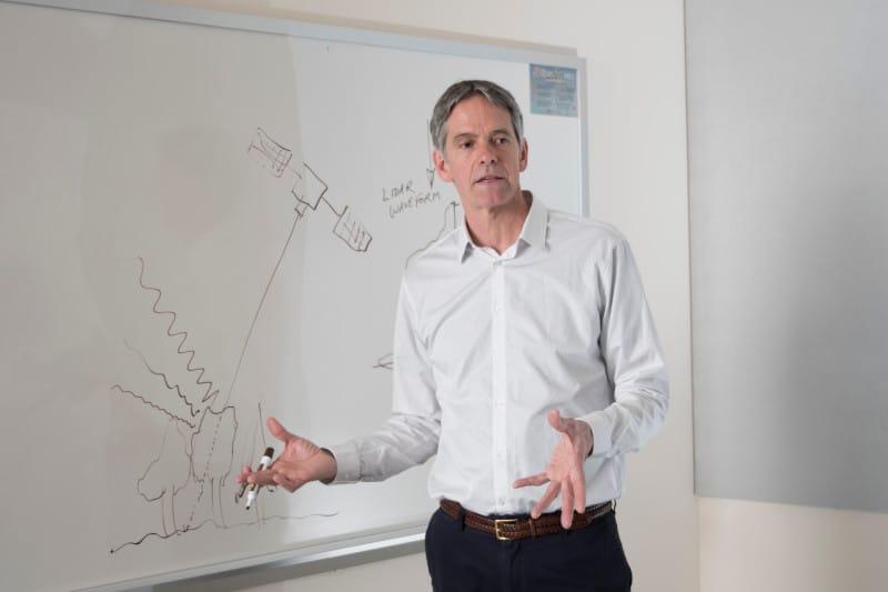 Scott Goetz teaching a class