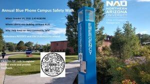 Blue Safety Phone image
