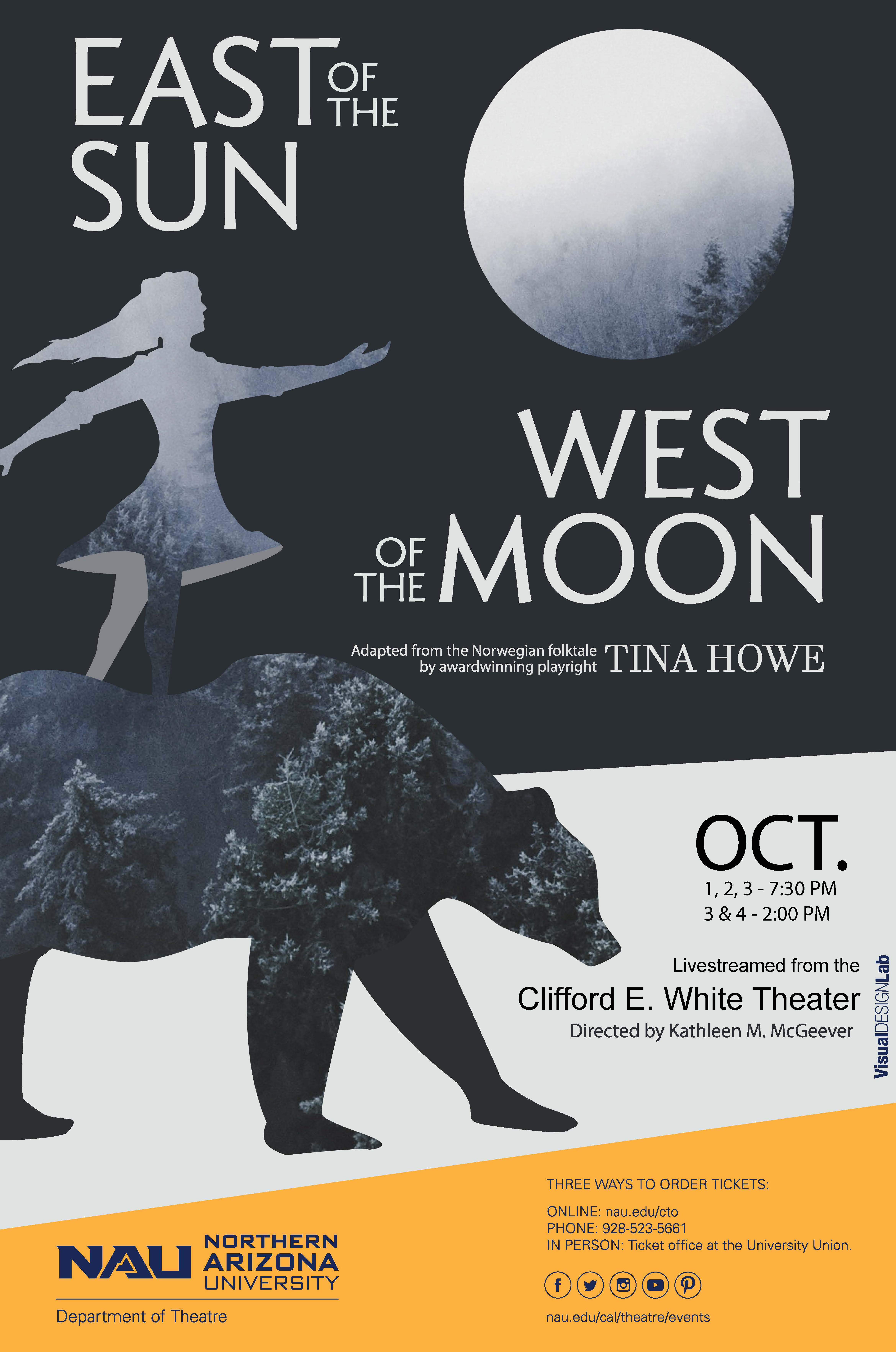 East of the Sun, West of the Moon flier