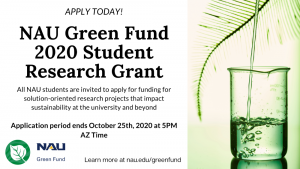Green Fund Announcment