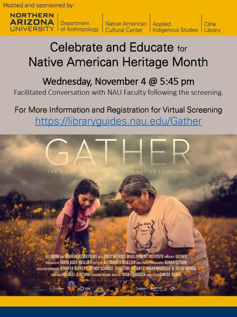 Gather flier
