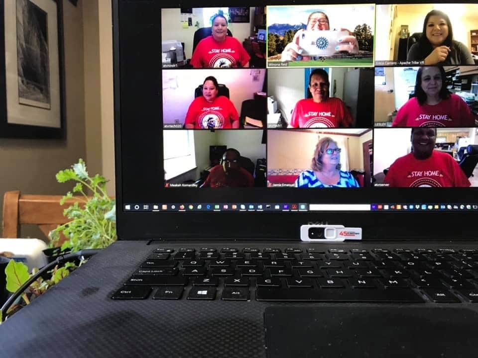 Zoom meeting for vocational rehabilitation