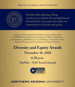 Diversity Awards flier