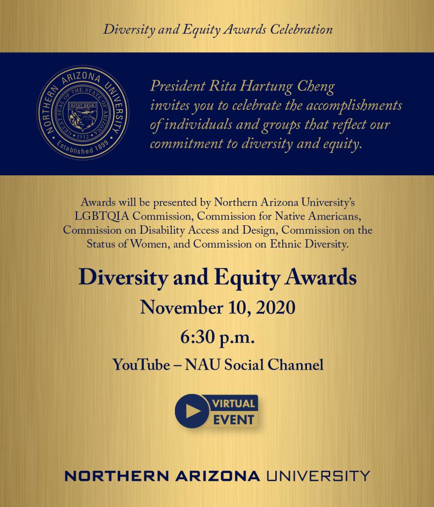 Diversity Awards flier