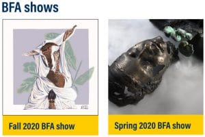 BFA_shows