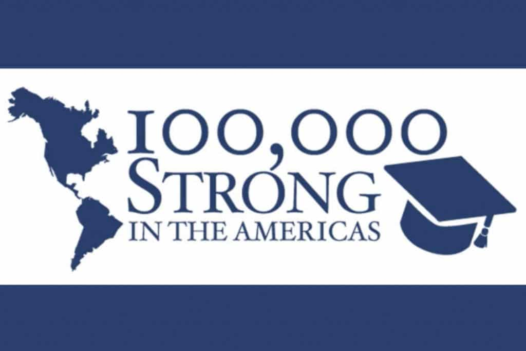 100K Strong in the Americas logo