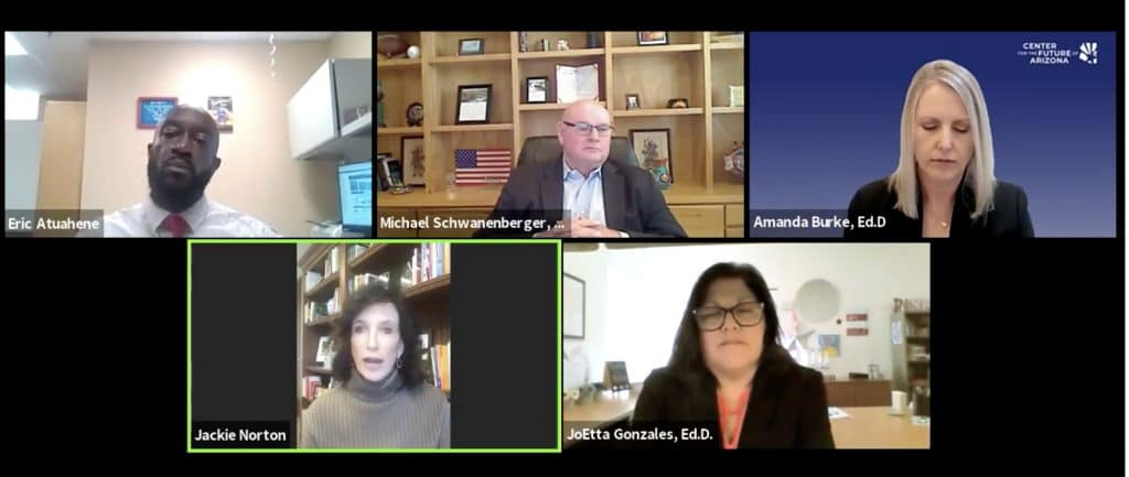 Screen shot of the Leadership Summit with Michael Schwanenberger