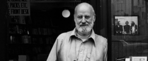 Poet and publisher Lawrence Ferlinghetti