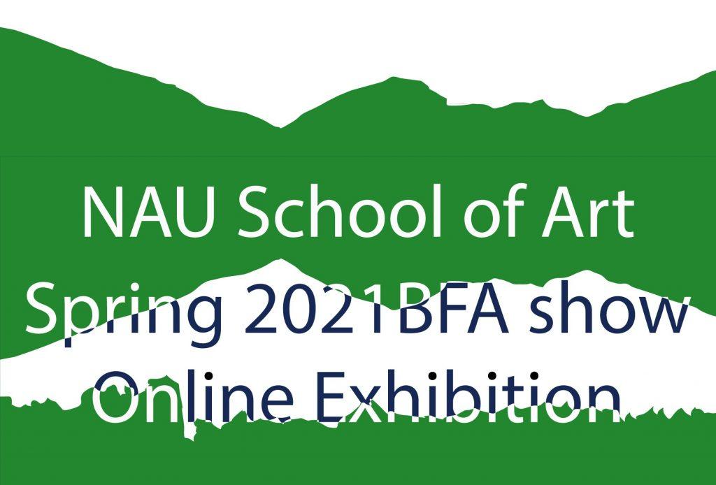 BFA Art Show green graphic