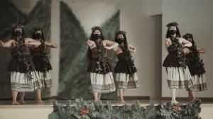 HAPA Hawaiian Club dancers