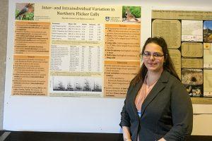 Mariah Letowt at Undergrad Symposium