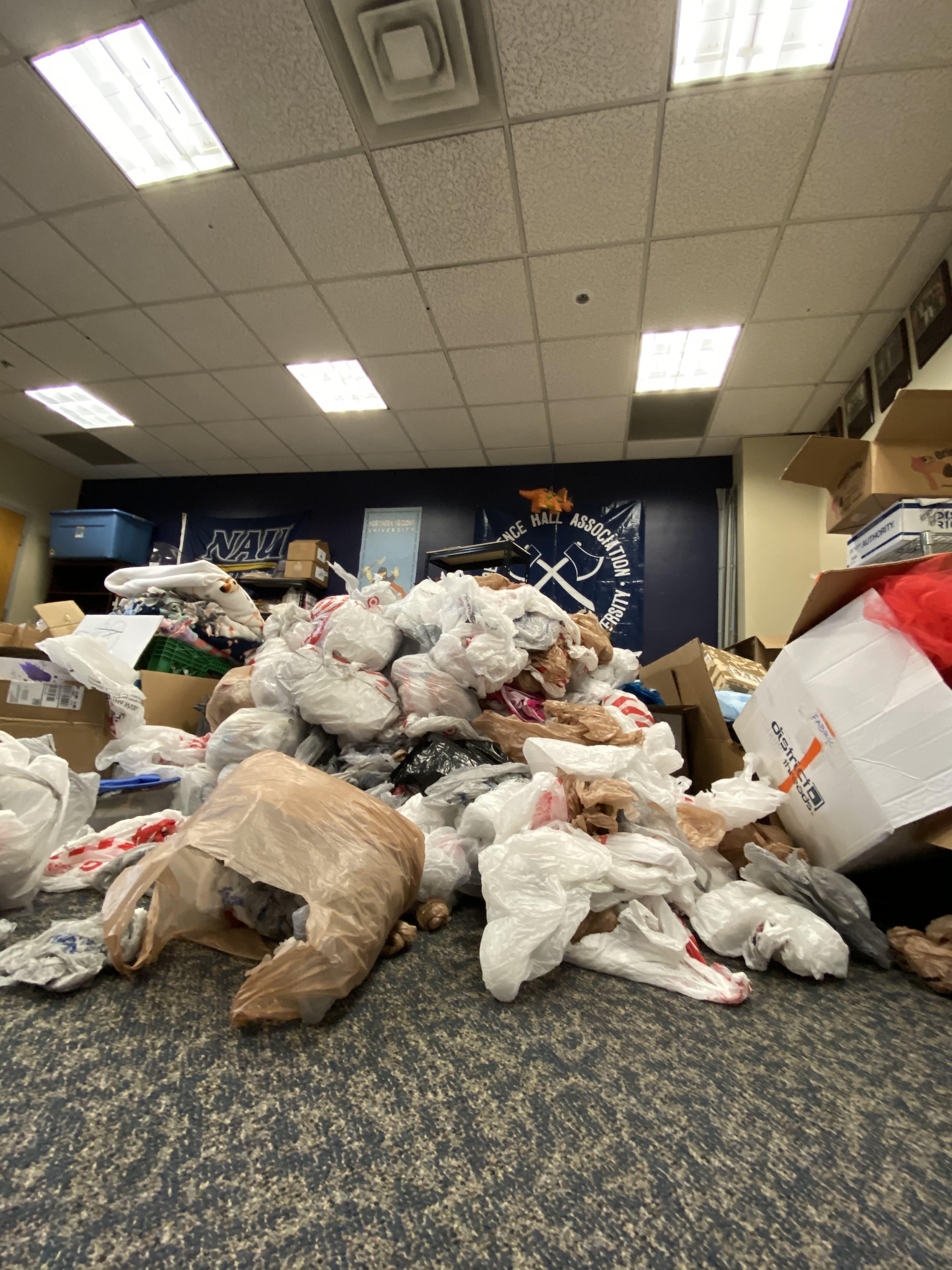 Plastic bag recycling program
