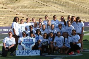 Track & Field Women's team