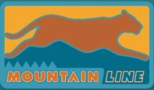 Mountain Line bus service logo