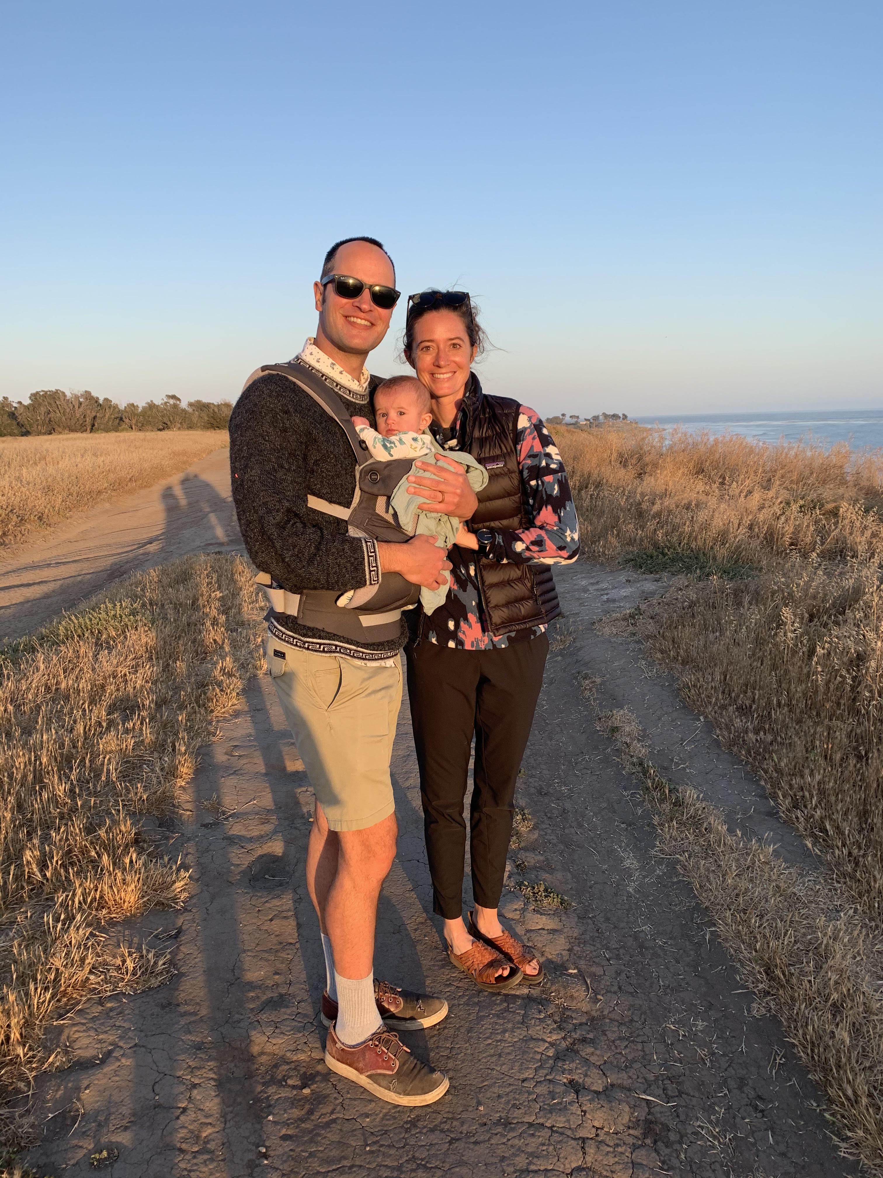 Reid Family in Santa Barbara