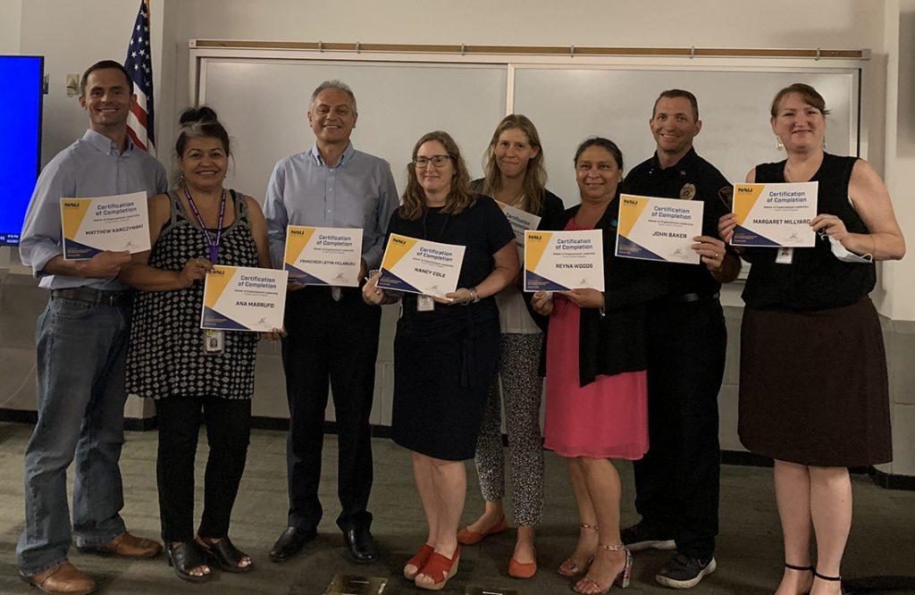 Members of the Tucson educational leadership cohort